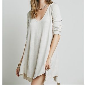 Free People We The Free Marigold Tunic in Natural